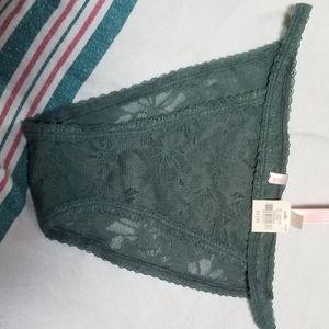 Victoria's secret medium green panties
